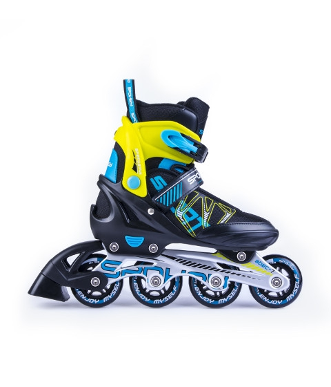 kinder inliner inline skates verstellbar gr 33 36. Black Bedroom Furniture Sets. Home Design Ideas