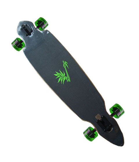 longboard spartan bamboo 42 drop through cutout longboard f r anf nger kaufen. Black Bedroom Furniture Sets. Home Design Ideas