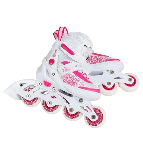 kinder inliner schlittschuhe pink kaufen inline skates. Black Bedroom Furniture Sets. Home Design Ideas