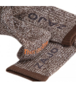 Thermosocken ZAJO Thermolite Midweight II Braun